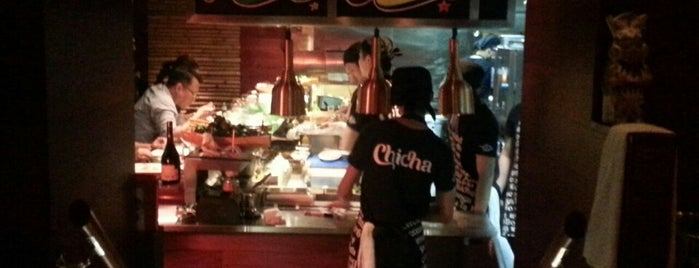 Chicha is one of HKG restos.