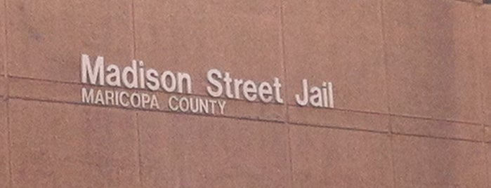 Madison Street Jail is one of Landmarks of Interest for J-Students.