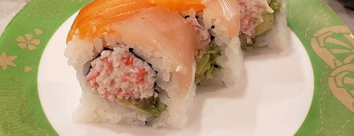 Izumi Kaiten Sushi is one of สถานที่ที่ Byron ถูกใจ.
