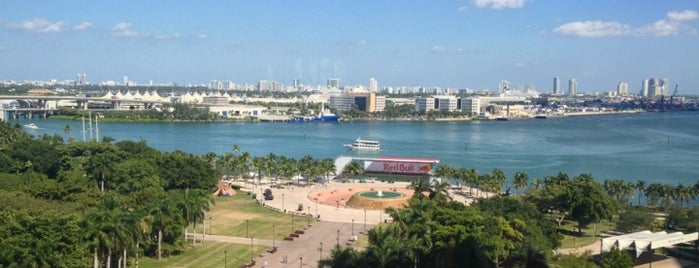 Bayfront Park is one of The 15 Best Places with Scenic Views in Miami.