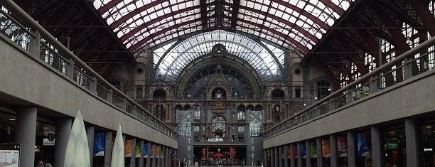 Antwerp-Central Railway Station is one of Bijna alle treinstations in Vlaanderen.