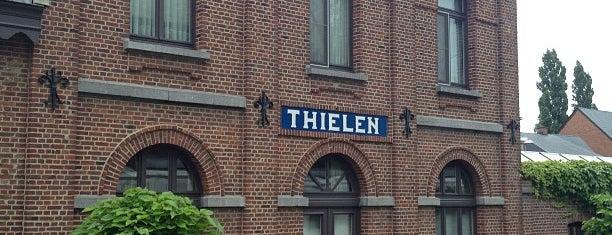 Tielen railway station is one of Bijna alle treinstations in Vlaanderen.