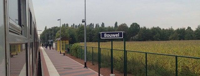 Station Bouwel is one of Bijna alle treinstations in Vlaanderen.