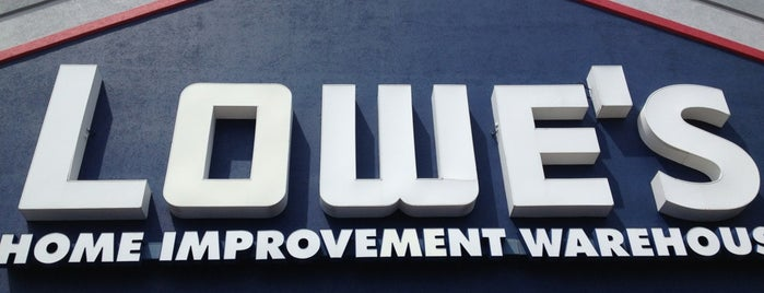 Lowe's Home Improvement is one of mine.