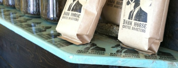 Dark Horse Coffee Roasters is one of San Diego by Hearts Are Analog.