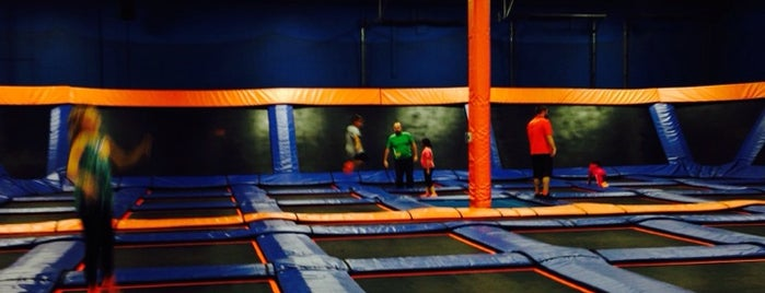 Sky Zone Milwaukee is one of places i frequent.