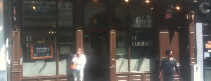 Le Corbeau is one of Br(ik Caféplan - part 1.