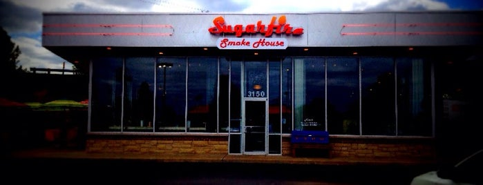 Sugarfire Smoke House is one of Restaurants to eat at.