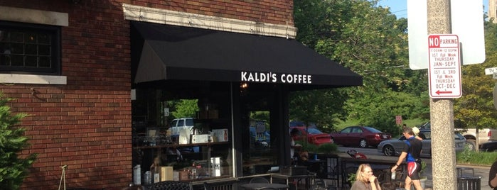 Kaldi's Coffee House is one of The 15 Best Dog-Friendly Places in St Louis.