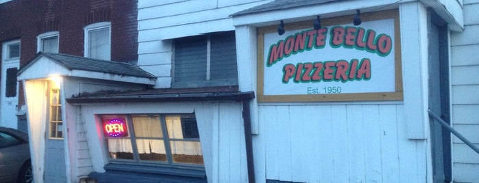 Monte Bello Pizzeria is one of To Try.