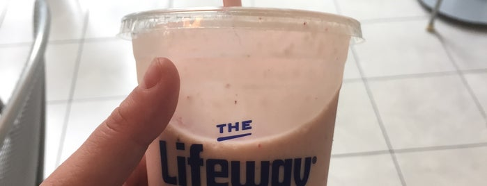 The Lifeway Kefir Shop is one of Chi-city Chillin'.