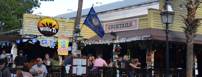Willie T's is one of Must-visit Bars in Key West's Duval Crawl.
