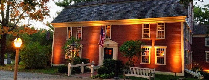 Longfellow's Wayside Inn is one of Good Eats in New England.