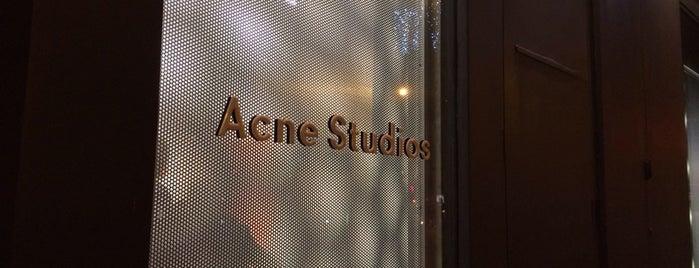 Acne Studios is one of Paris, FR.