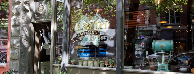 E. Smith Mercantile is one of A list of spots.