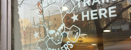 Kru Strength and Fitness is one of David's Andersonville Itinerary.