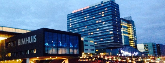 Mövenpick Hotel Amsterdam City Centre is one of The 15 Best Places with Scenic Views in Amsterdam.