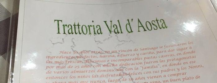 Trattoria Val D'Aosta is one of ʕ •ᴥ•ʔ.