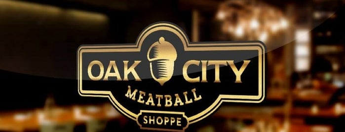 Oak City Meatball Shoppe is one of Raleigh Favorites.