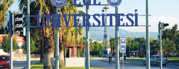 Ege Üniversitesi is one of Türkiye'de En Çok Check-in Yapılan Mekanlar.