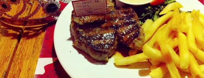 Steak Hotel by Holycow! TKP Kemang is one of The 15 Best Places for a Steak in Jakarta.