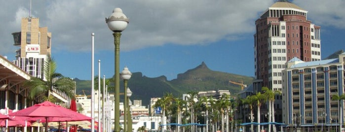 Port Louis is one of World Capitals.