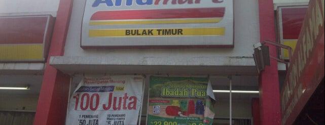 Alfamart Bulak Timur is one of Citayam Market N Grocery.