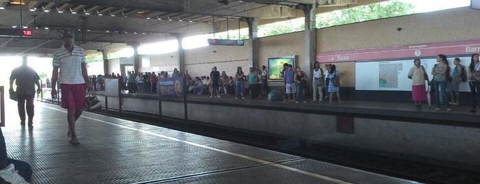 Estação Barro (CBTU/Metrorec) is one of lugares.