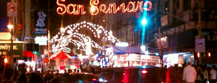 Feast of San Gennaro is one of NYC - Quick Bites!.
