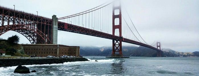 Golden Gate Bridge is one of San Francisco.