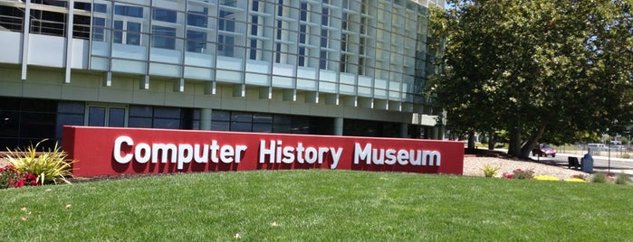 Computer History Museum is one of Silicon Valley.