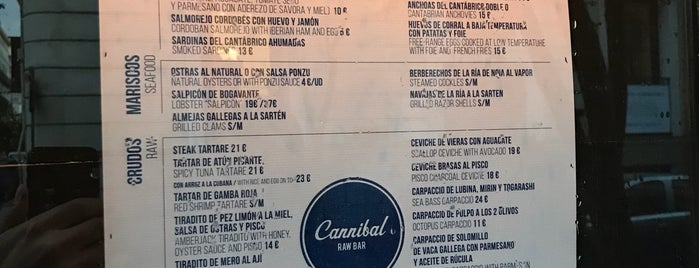 Cannibal Raw Bar is one of Restaurantes por descubrir.