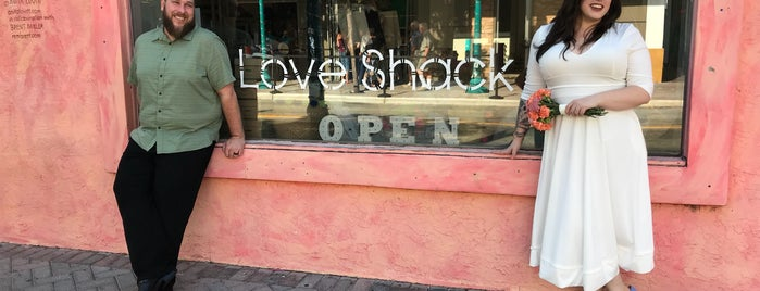Love Shack is one of Local Treasures.