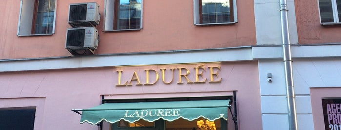 Ladurée is one of Call it Moscow!.