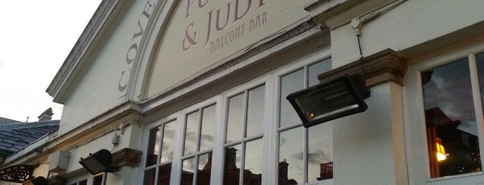 Punch & Judy is one of London.