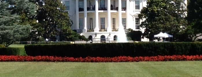 The White House is one of December in DC.