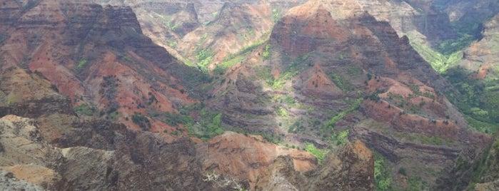 Waimea Canyon & Koke'e State Park is one of Hawaii.