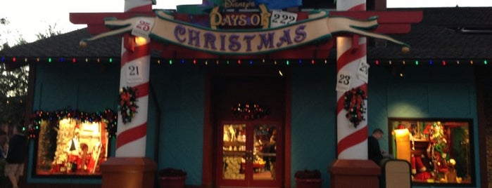Disney's Days of Christmas is one of DISNEY.
