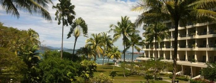 Shangri-La's Tanjung Aru Resort and Spa is one of 20 favorite restaurants.