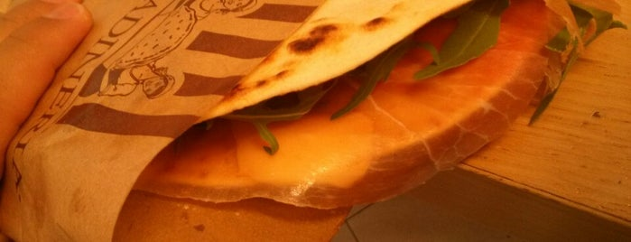 La Piadineria is one of Roma locali: checked.