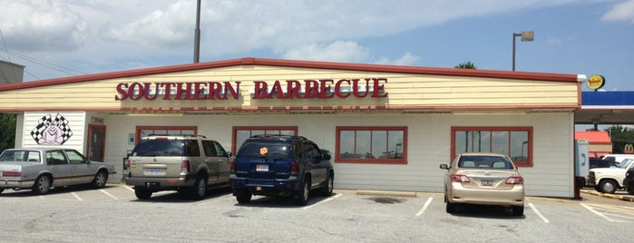 Southern Barbecue is one of Favorite Eateries in Spartanburg, SC.
