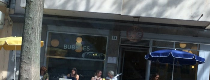 Bubbles is one of Zürich ••Spotted••.