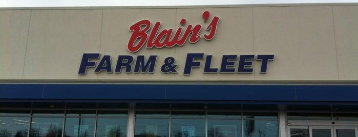 Blain's Farm & Fleet is one of My Faves.