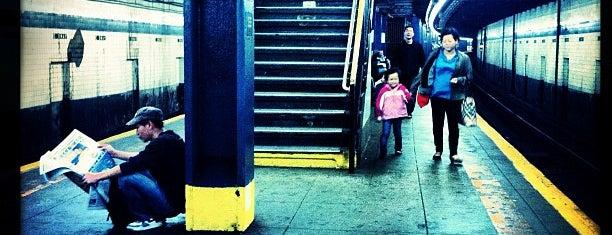 MTA Subway - East Broadway (F) is one of MTA Subway - F Line.