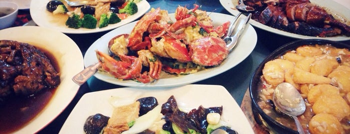 Lucky Seafood restaurant 鴻運海鮮樓 is one of Borneo.