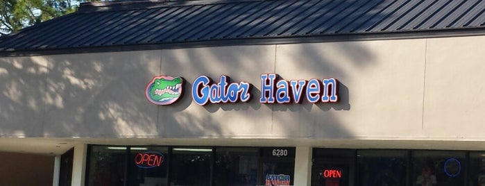 Gator Haven is one of routine.