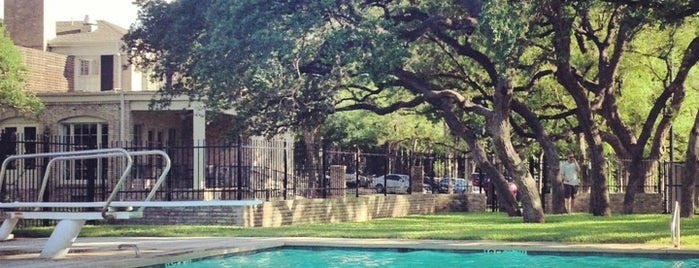 tarry house is one of the 15 best places with a swimming pool in austin