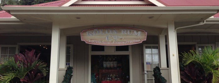 Kōloa Rum Company is one of Shopping & Gifts.