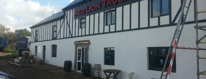 Red Lion Truckstop is one of Truckstops And Other Places To Park Overnight.