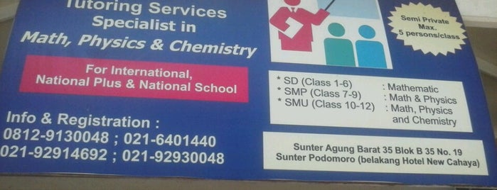 Amega Tutoring Services is one of Sunter.